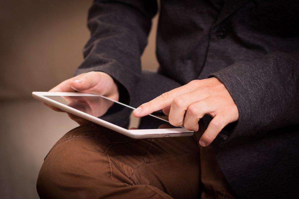 Lernen mit dem Tablet - gehört bei uns zum Alltag